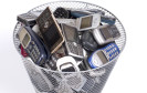 Handys im Müll