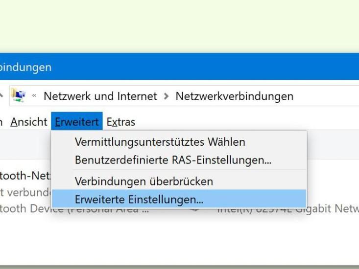 Netzwerkpriorität in Windows 10 anpassen - com! professional