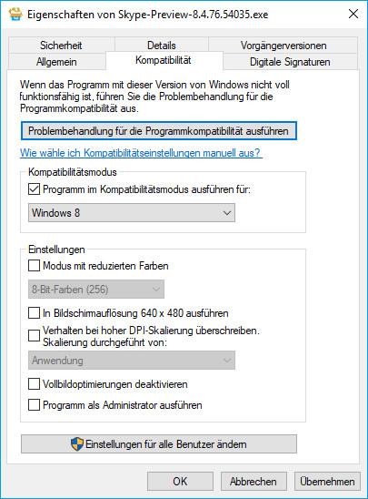 skype installieren windows 8