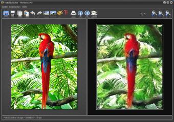Fotosketcher ist eine Filtersammlung mit 23 kreativen Effekten, die im Handumdrehen aus profanen Fotos kleine Kunstwerke machen.