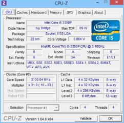 CPU-Z liefert detaillierte Informationen über Prozessor, Hauptplatine und RAM-Speicher.
