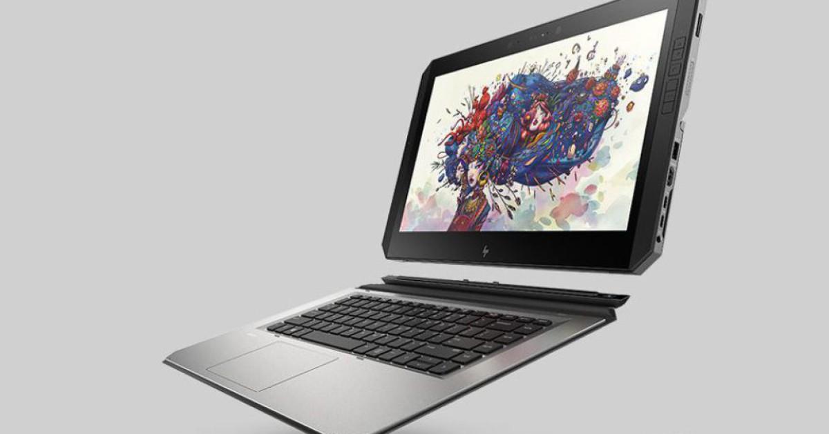 HP präsentiert Detachable-Workstation ZBOOK x2 - com