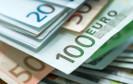 Ein Haufen mit Euro-Scheinen