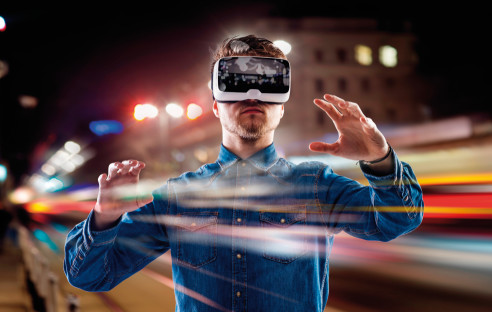 Virtual-Reality-Brille