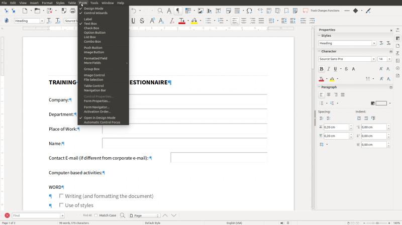 The Document Foundation gibt LibreOffice 6.0 für alle Plattformen frei