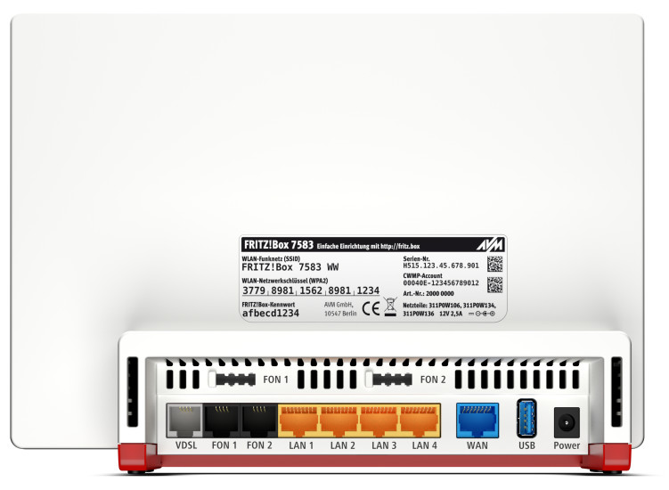 Neue AVM-Router: FRITZ!Box 7583 kommt bald