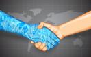 Digitaler Handshake