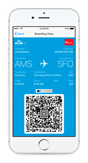 Chatbot der Airline KLM