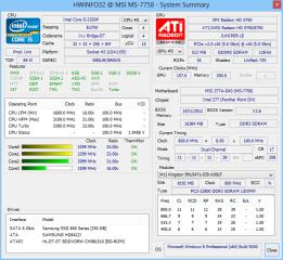Hwinfo fasst die wichtigsten Daten über Ihren Rechner in einer Übersicht zusammen, die sich ein- und ausblenden lässt.