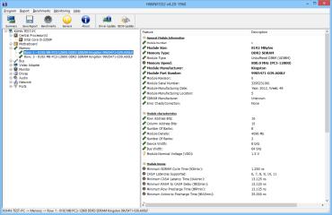 Hwinfo listet die Anzahl der Speicherbänke sowie die Art des verbauten Arbeitsspeicher. Wenn freie Bänke vorhanden sind, dann lässt sich das RAM problemlos erweitern.