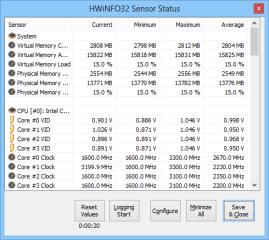 Hwinfo fasst die Werte aller verbauten Sensoren, etwa Temperatur oder Drehzahl der Lüfter, in einer praktischen Übersicht zusammen.