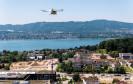 Drohnentest am Zürichsee