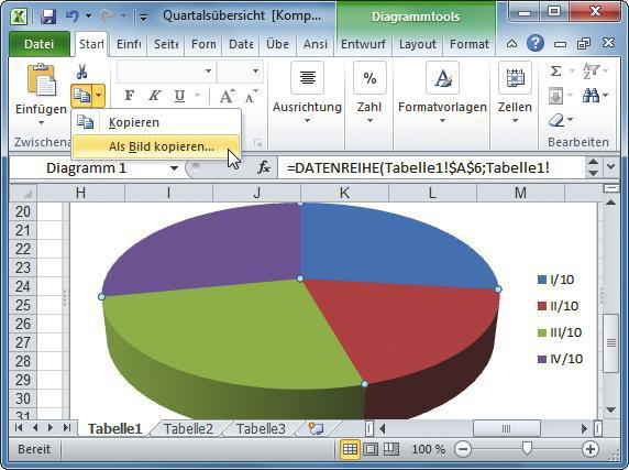Excel-Daten als Bild exportieren - com! professional