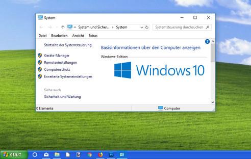 windows 10 xp skin