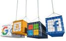 Container von Google, Amazon, Microsoft und Facebook