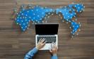 Weltweites Netzwerk über das Notebook erreichen