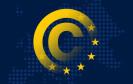 EU-Sterne Copyright-Zeichen