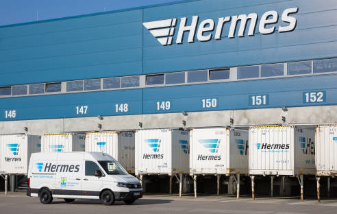 Hermes Logistikzentrum